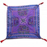 Housse de coussin style tibétain (hctib15m)