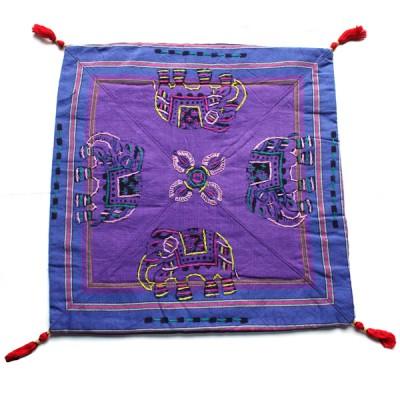 Housse de coussin style tibétain (hctib16m)