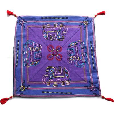 Housse de coussin style tibétain (hctib17m)