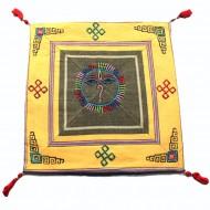Housse de coussin style tibétain (hctib19m)