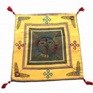 Housse de coussin style tibétain (hctib21m)