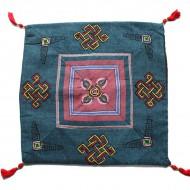 Housse de coussin style tibétain (hctib24m)