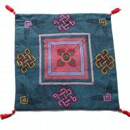 Housse de coussin style tibétain (hctib26m)