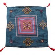 Housse de coussin style tibétain (hctib27m)