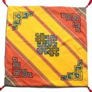 Housse de coussin style tibétain (hctib28g)
