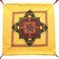 Housse de coussin style tibétain (hctib29g)