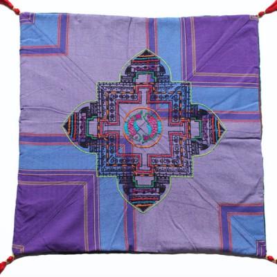 Housse de coussin style tibétain (hctib30g)