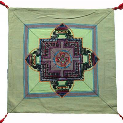 Housse de coussin style tibétain (hctib31g)