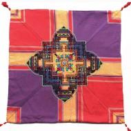 Housse de coussin style tibétain (hctib32g)
