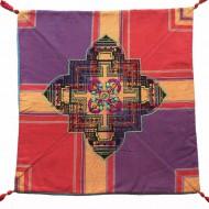 Housse de coussin style tibétain (hctib33g)