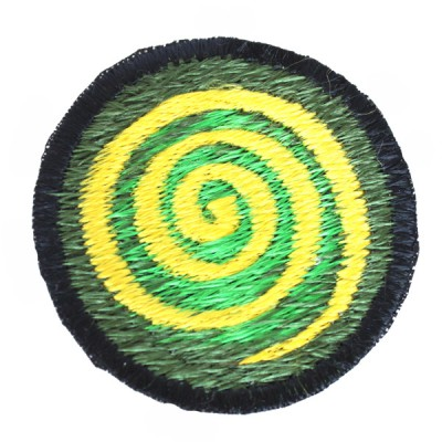 "Ecusson brodé ""Spirale"" (ecnep18pm13)"