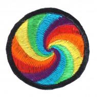 "Ecusson brodé ""Spirale"" (ecnep18pm14)"