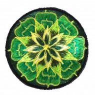 "Ecusson brodé - ""Lotus"" (ecnep18mm19)"