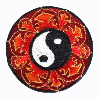 """Ecusson brodé - """"Yin et Yang"""" (ecnep18mm23)"""