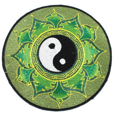 """Ecusson Brodé Géant """"Yin Et Yang"""" (ecnep18gm01)"""