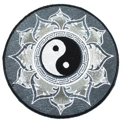 """Ecusson Brodé Géant """"Yin Et Yang"""" (ecnep18gm02)"""