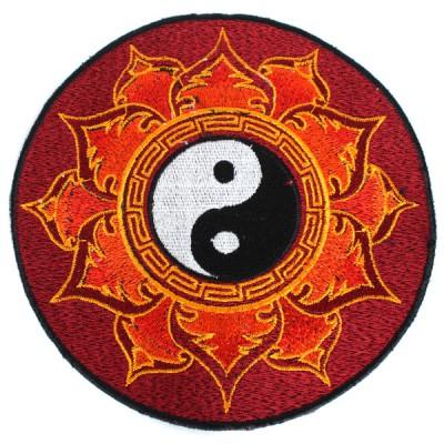 """Ecusson Brodé Géant """"Yin Et Yang"""" (ecnep18gm05)"""