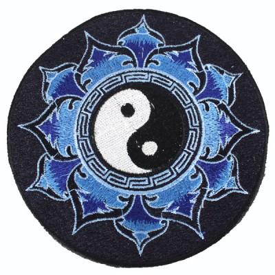 """Ecusson Brodé Géant """"Yin Et Yang"""" (ecnep18gm07)"""