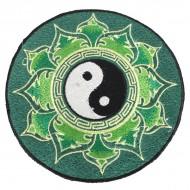 """Ecusson Brodé Géant """"Yin Et Yang"""" (ecnep18gm08)"""