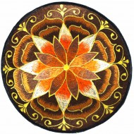 """Ecusson Brodé Géant """"Lotus"""" (ecnep18tgm01)"""