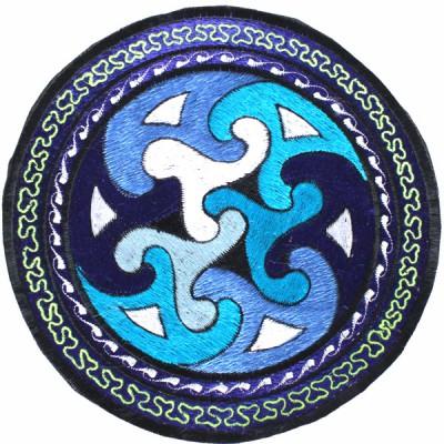 """Ecusson Brodé Géant """"Spirale"""" (ecnep18tgm02)"""