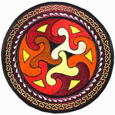 """Ecusson Brodé Géant """"Spirale"""" (ecnep18tgm03)"""