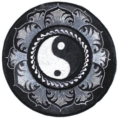 """Ecusson Brodé Géant """"Yin Et Yang"""" (ecnep18tgm11)"""
