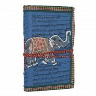 """Carnet indien motif """"Eléphant"""" (carin04el))"""