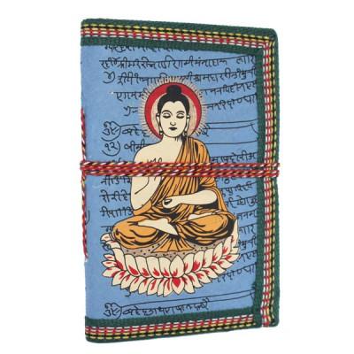 "Carnet indien motif ""Bouddha"" (carin06bou))"