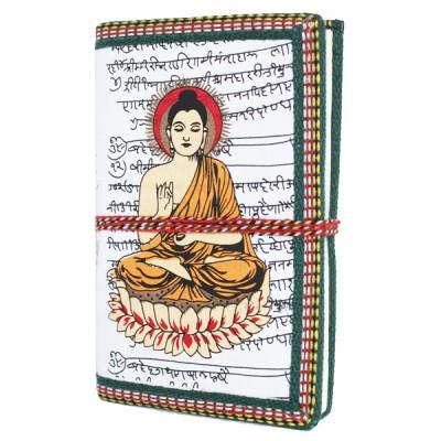 "Carnet indien motif ""Bouddha"" (carin07bou))"