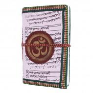 "Carnet indien motif ""Om"" (carin08om)"