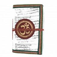 "Carnet indien motif ""Om"" (carin09om)"