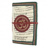 "Carnet indien motif ""Om"" (carin11om)"