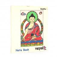 "Petit carnet népalais motif ""Bouddha"" (cnep04tpm)"