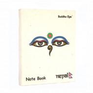 """Petit carnet népalais """"Les Yeux de Bouddha"""" (cnep05tpm)"""