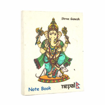 "Petit carnet népalais motif ""Ganesh""(cnep06tpm)"