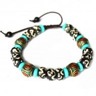 Bracelet style Tibétain (brtib03)