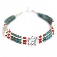 Bracelet style Tibétain (brtib08t)