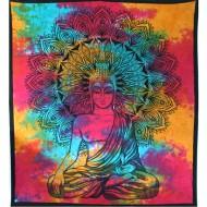 """Tenture Indienne """"Bouddha"""" (tgm188)"""