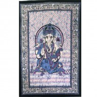 "Tenture Indienne ""Ganesh"" (tmm200r)"