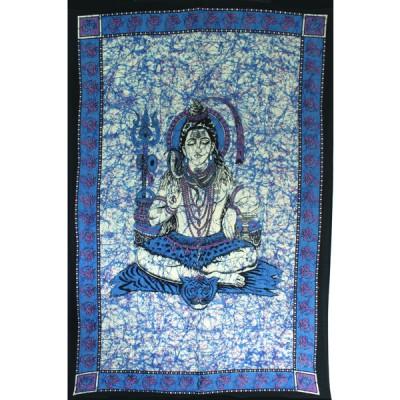 "Tenture Indienne ""Shiva"" (tmm272)"
