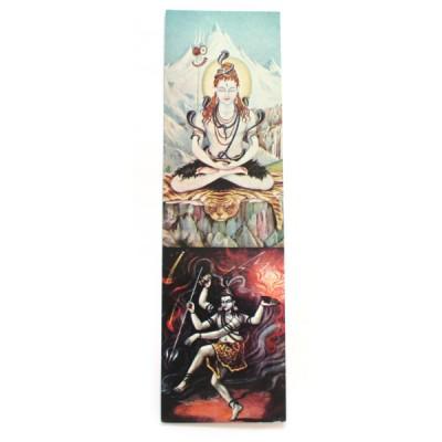 "Marque-page ""Shiva"""