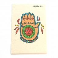 "Carte Postale ""Mithila Art""'"