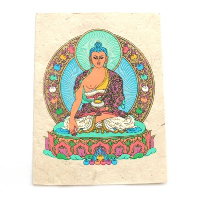 "Carte Postale ""Shakyamuni Buddha""'"