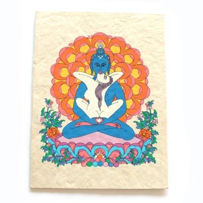 "Carte Postale ""Samantabhadra""'"