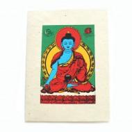"""Carte Postale """"Medicine Buddha""""'"""