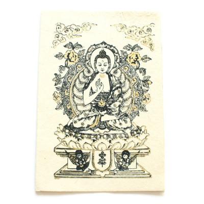 "Carte Postale ""Bouddha""'"