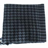 Keffieh gris à carreaux(019)