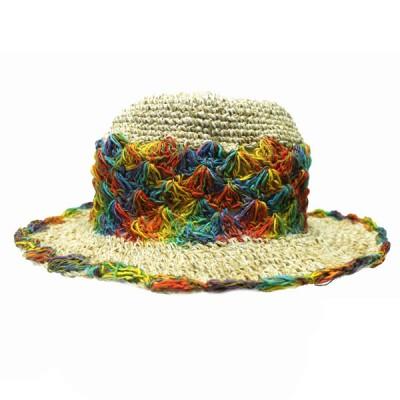 Chapeau d'été - chanvre et coton