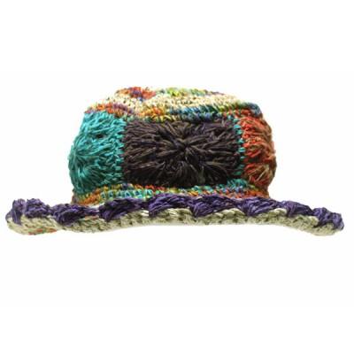 Chapeau d'été - chanvre et coton (chnep02)